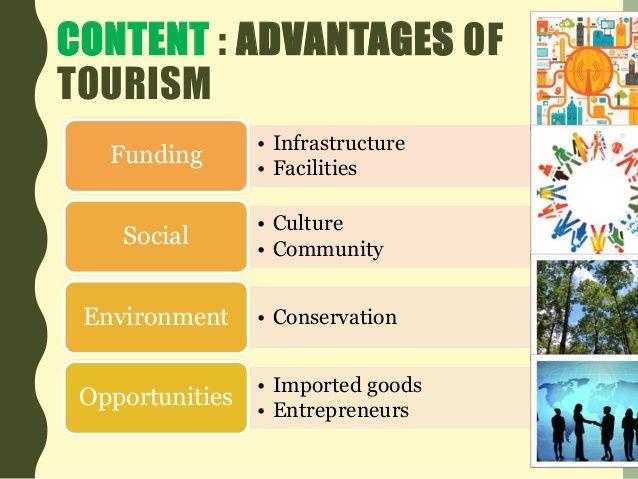 Advantages and Disadvantages of Tourism   New   Tourism
