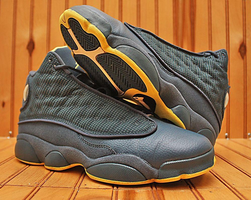 purchase cheap 52fd6 cc690 Nike Air Jordan XIII 13 Retro Size 7Y - Squadron Blue Volt ...