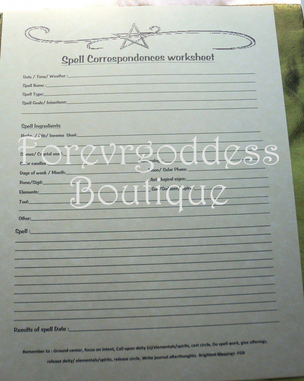 Spell Corresponding Worksheet Sw 01