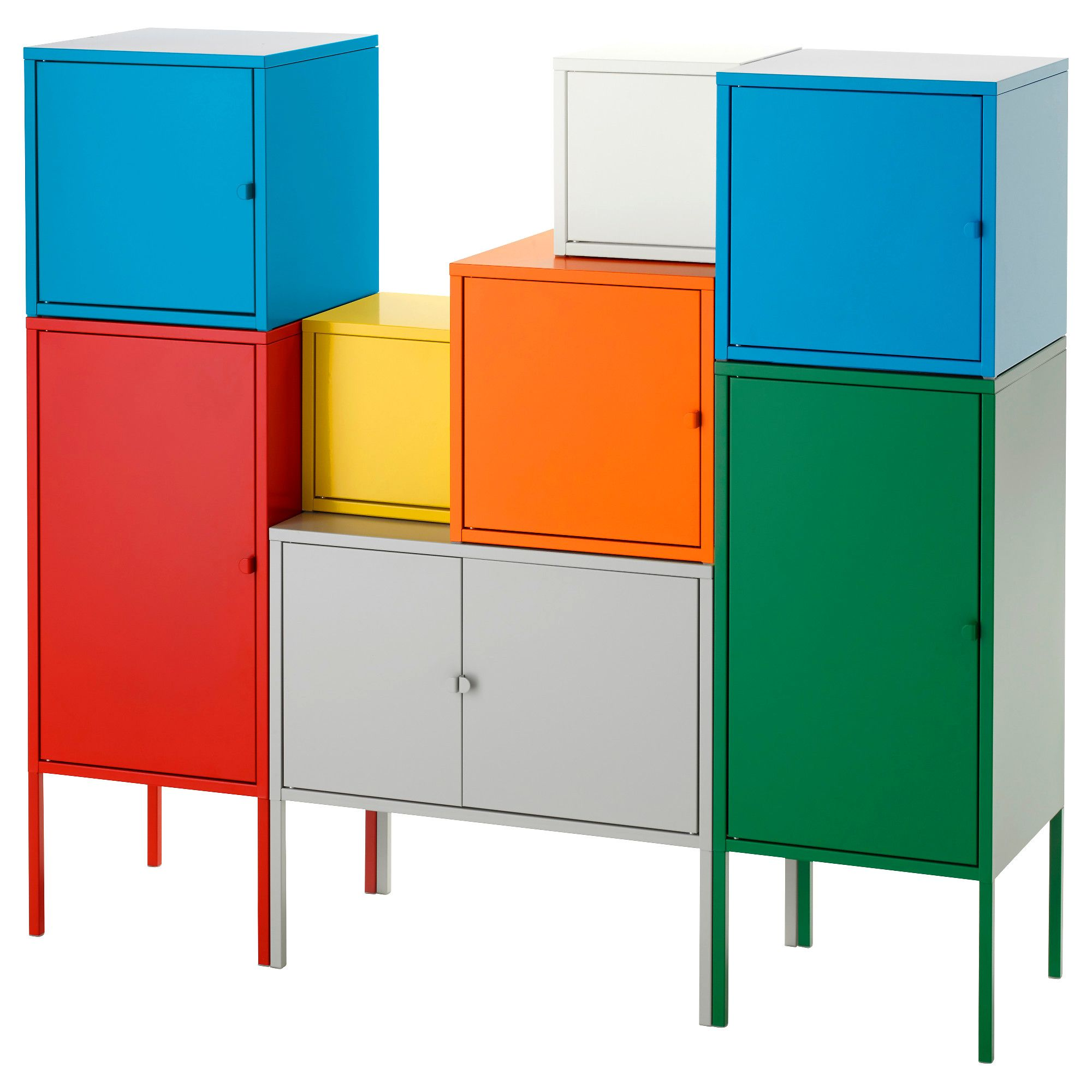 Image result for ikea lockers metallo Ikea, Cupboard
