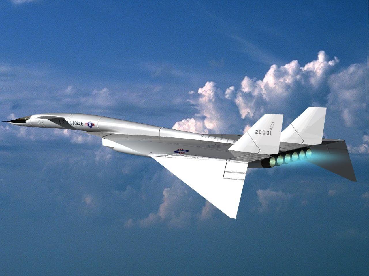 XB-70 Valkyrie | Armée de l'air, Avions de chasse, Avion de chasse