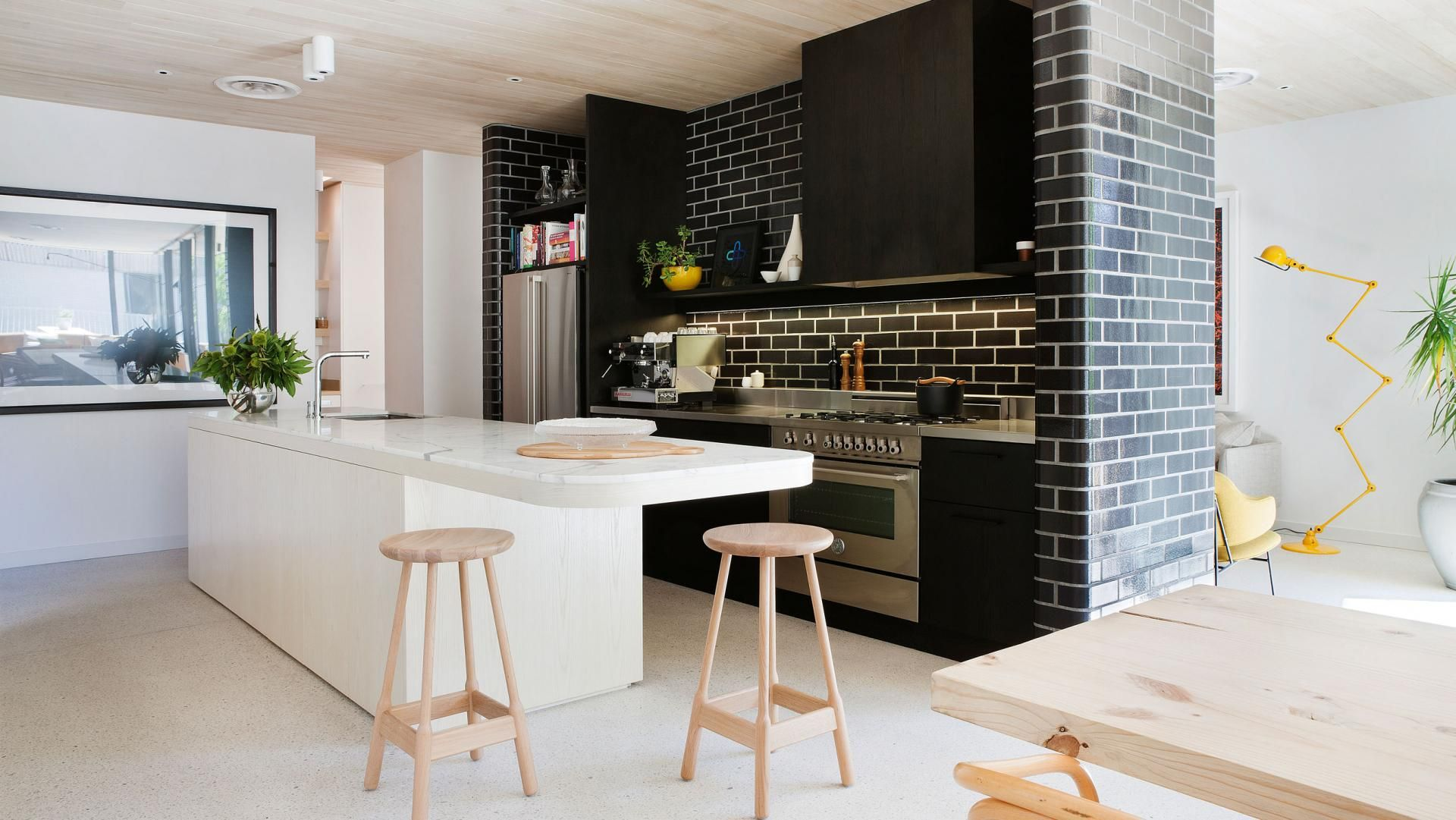 cocina con isla - Cómo diseñar la mejor cocina para cocinar ...