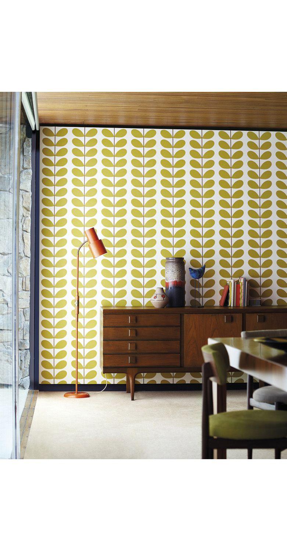 Healus Orla Kiely Classic Stem Wallpaper by Harlequin Wallpaper