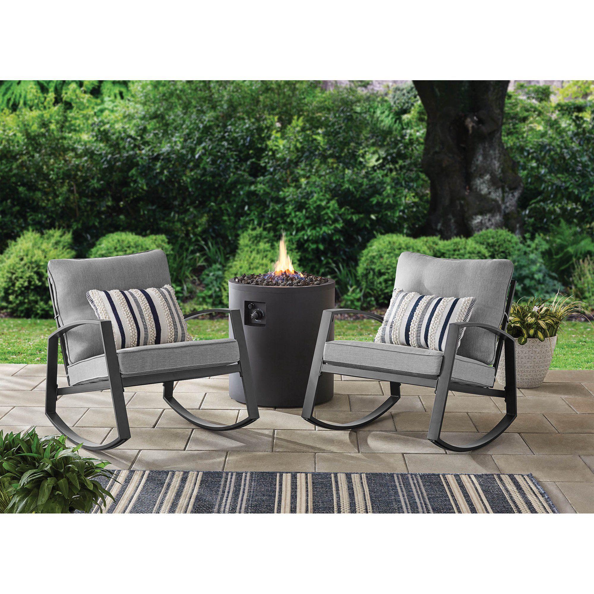 rocking chair set patio rocking chairs
