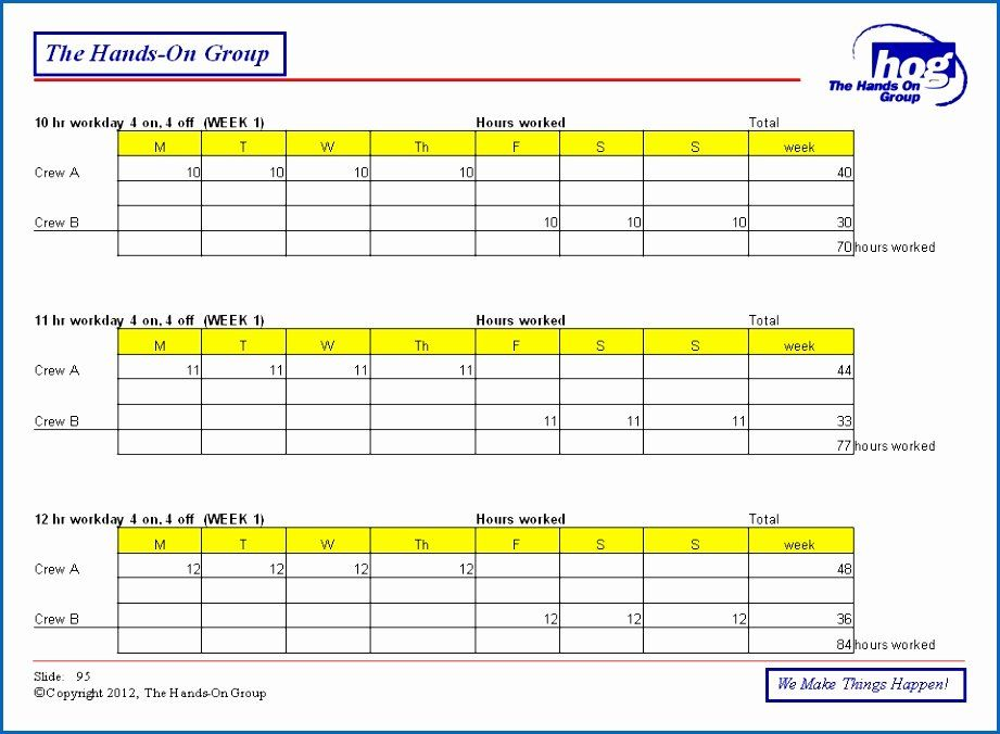 12 Hour Schedule Template Elegant 8 Hour Rotating Shift Schedules Examples Excel Schedule Template Shift Schedule Schedule Templates
