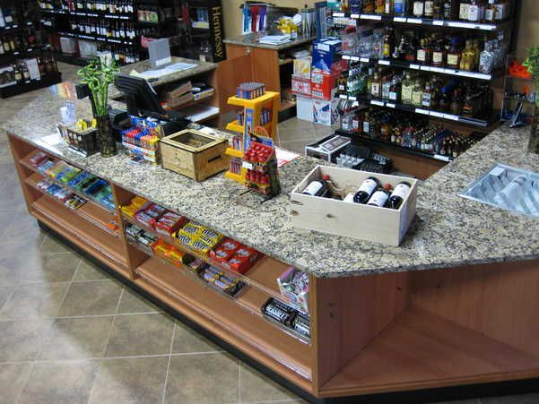 Retail S Counters With Marble