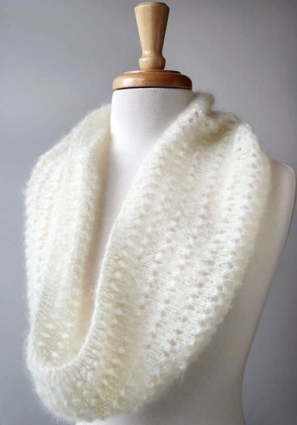 Snood Knitting Pattern Genevieve Cowl Neckwarmer by AtelierTPK ...