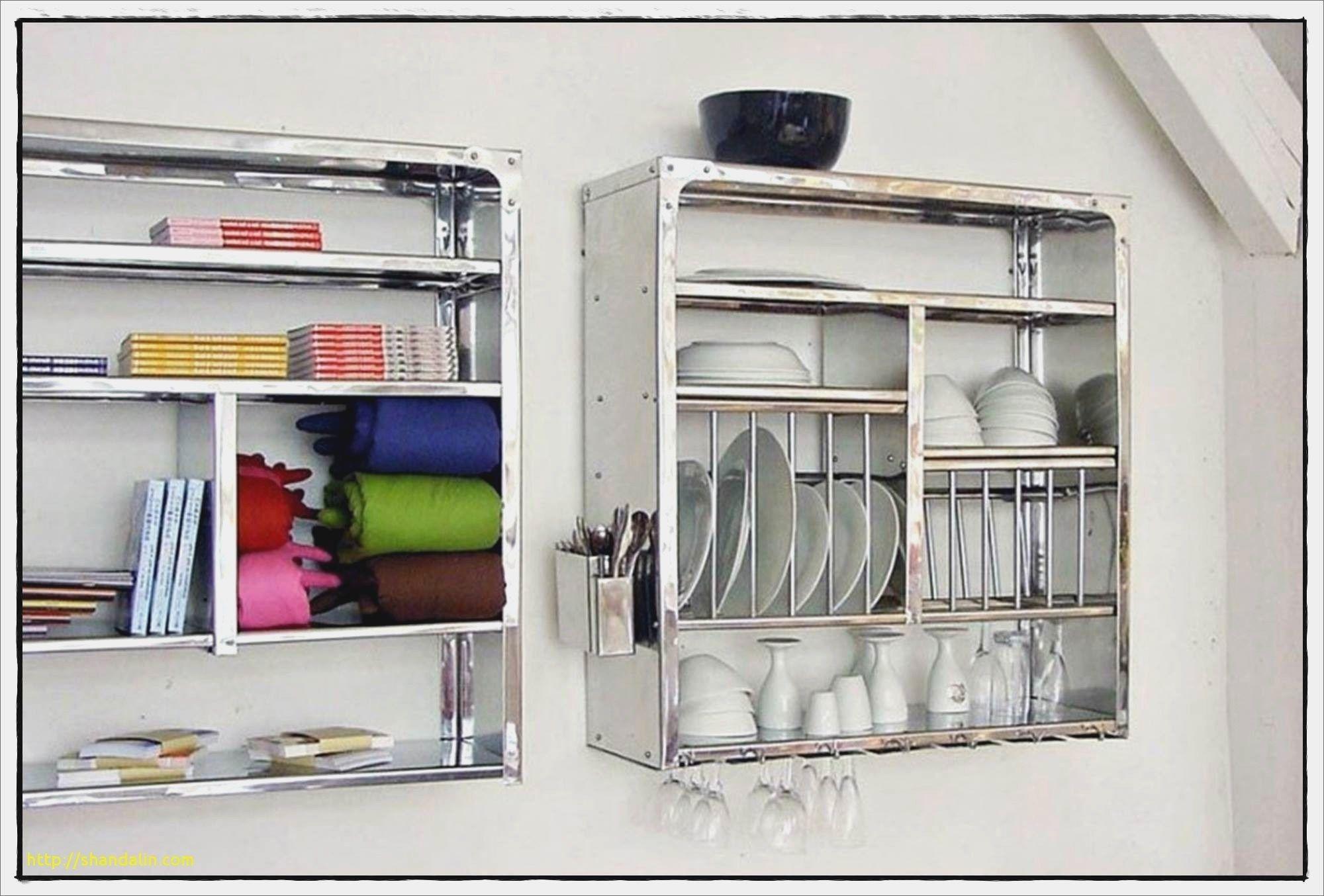 New Etagere Murale Cuisine Inox  Luxury kitchen design, Kitchen