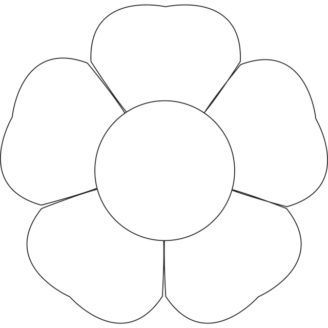 Learn All About Digital Stamps And How To Use Them Flower Templates Printable Flower Templates Printable Free Flower Template