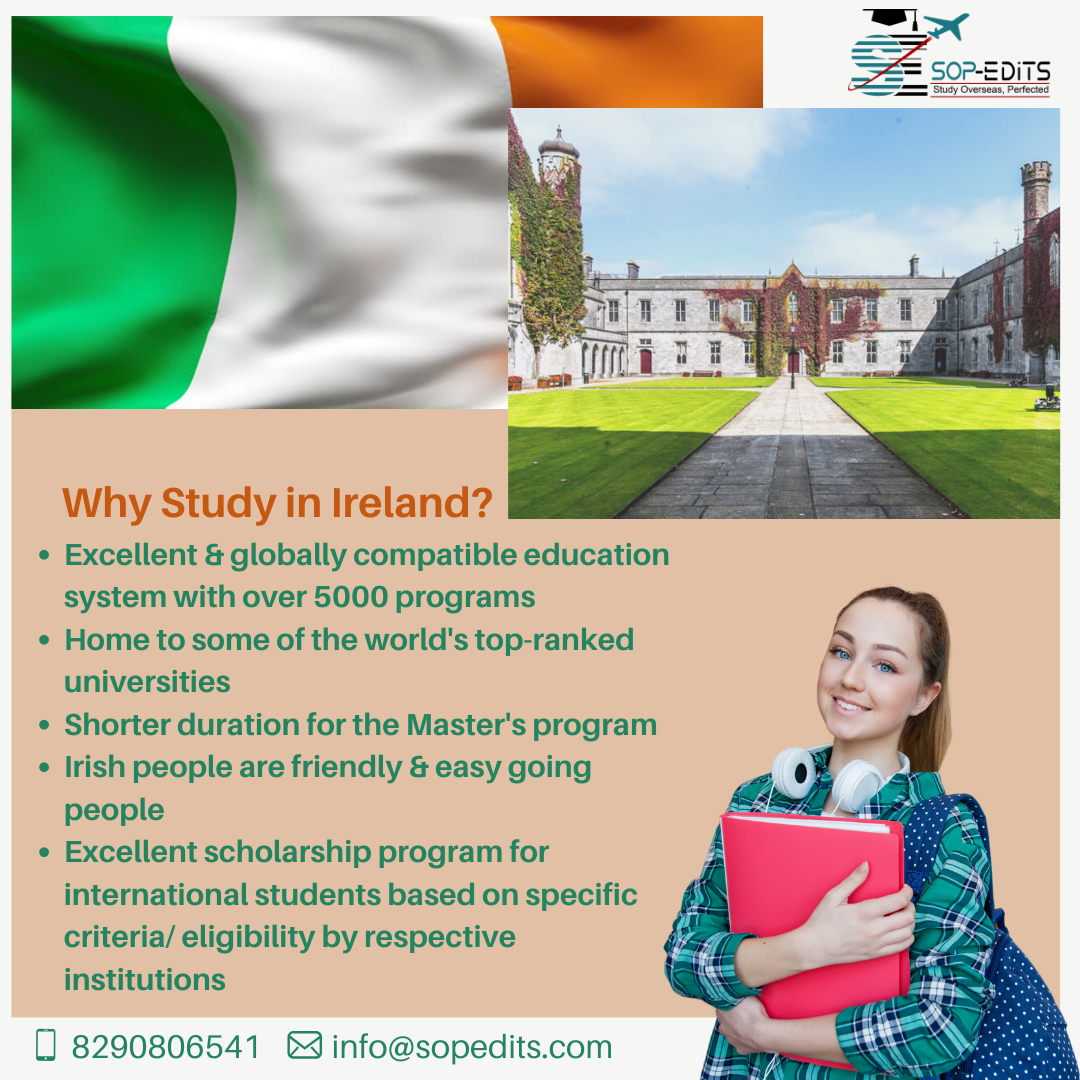 Study in Ireland 2020 in 2020 International students