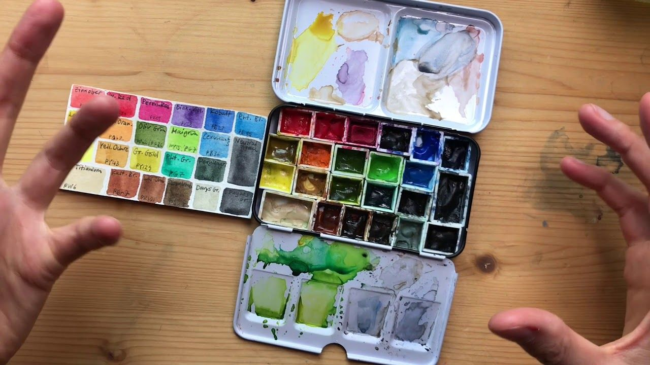 How To Choose A Great Watercolor Palette A Look At My Field Kit