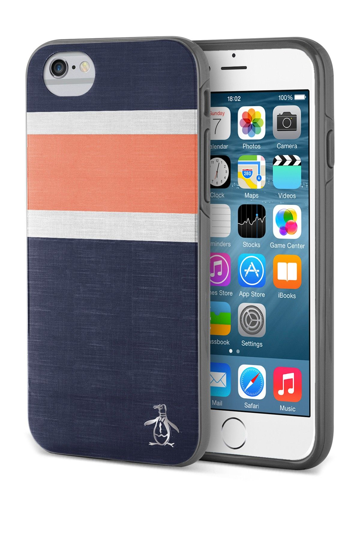 Original Penguin Bold Stripe 2Piece iPhone 6/6s Plus