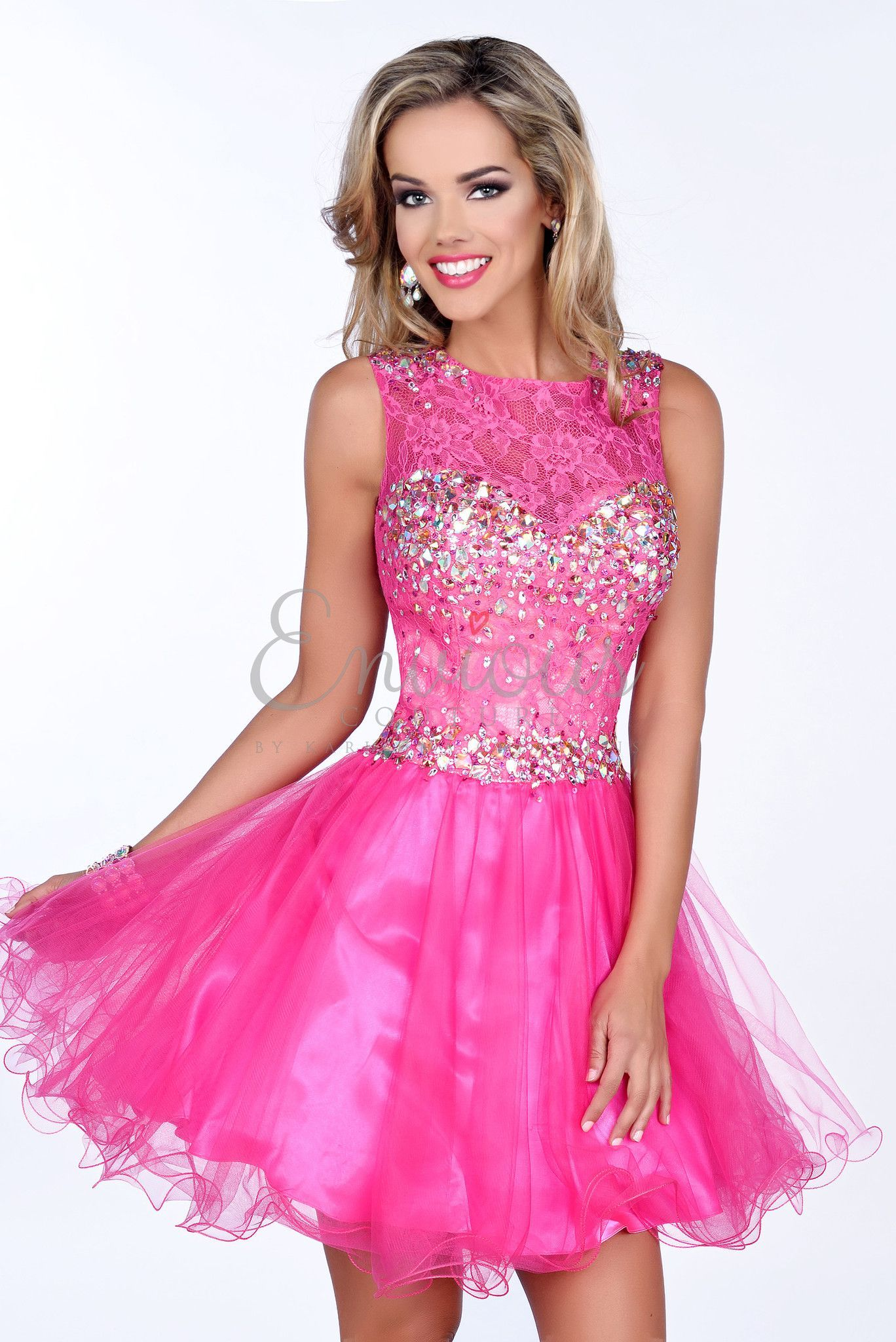 This dress is the definition of sweet from it\'s color to it\'s ...