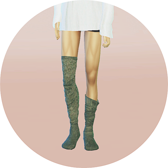Sims 4 CC's - The Best: Male Socks by Marigold