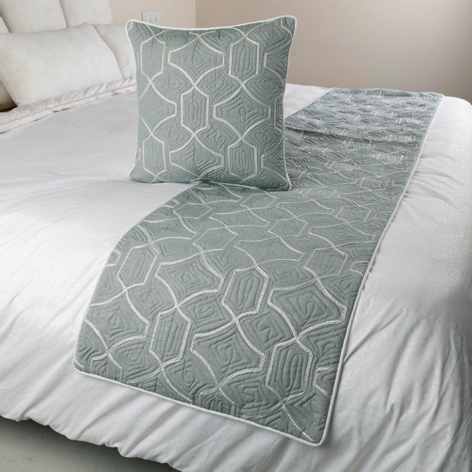 decorative throw etsy blue bedding