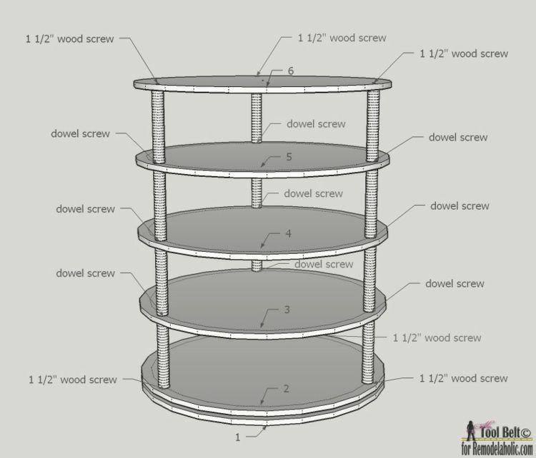 schuhregal selber bauen die abmessung diy und selbermachen rotating shoe rack diy shoe rack. Black Bedroom Furniture Sets. Home Design Ideas