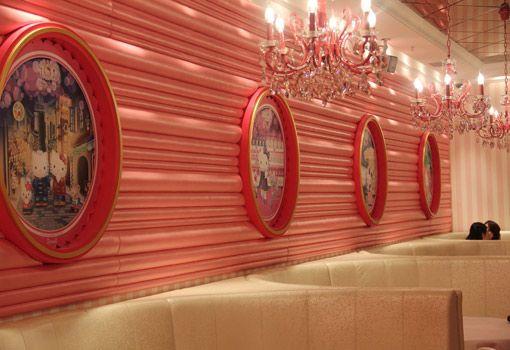 Adoro Lilás Blog no Canada: Restaurante da Hello Kitty em Beijing