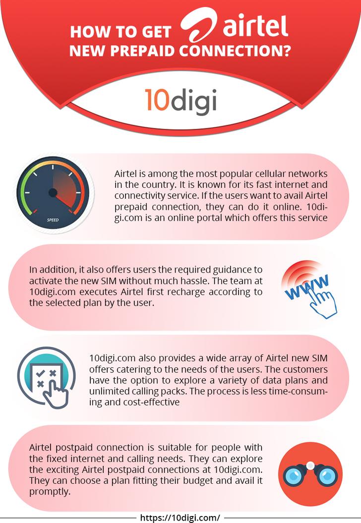 How to Get Airtel New Prepaid Connection? | Airtel New Prepaid