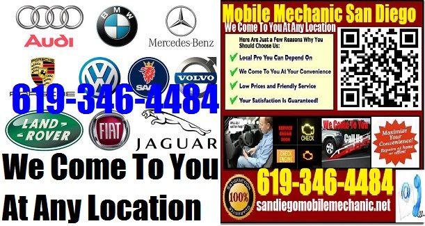Local Mechanics Near Me >> Top Mobile European German Mechanic In San Diego Auto Car