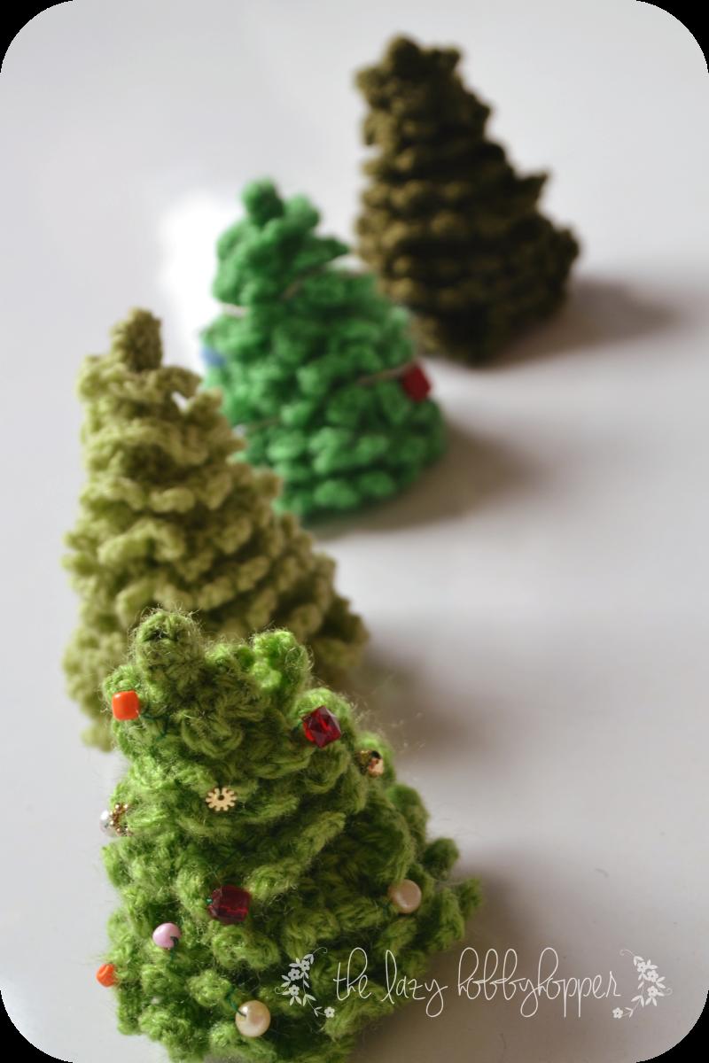The Lazy Hobbyhopper: Árbol de Navidad Crochet - patrón libre ...