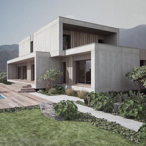 Maison préfabriquée   modulaire   passive   contemporaine KOCHI