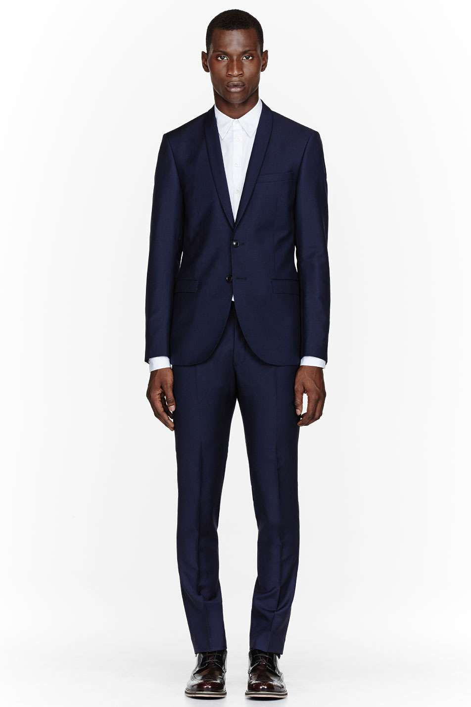 Tiger Of Sweden    Navy two-button Troy suit  da994be0180