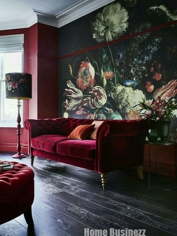 How to decorate the house with color