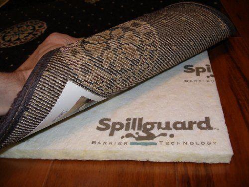 5 X8 Multiple Sizes Area Rug Pad Manufacturer Carpenter Style Glacier Premium 1 2 Visco Elastic Memory Foam With Dupo Area Rug Pad Rug Pad Carpet Padding