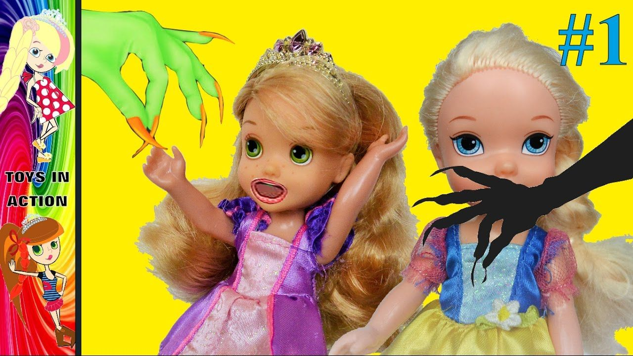 Anna And Elsa Toddlers Kidnapped By Maleficent Mother Gothel Disney El Maleficent Toddler Kids Videos