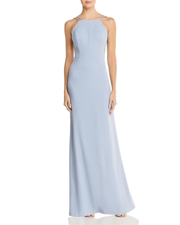 Aidan By Aidan Mattox Ruffle Trimmed Gown Women Dresses Bloomingdale S Maxi Dress Prom Gowns Dresses Designer Prom Dresses [ 1500 x 1200 Pixel ]