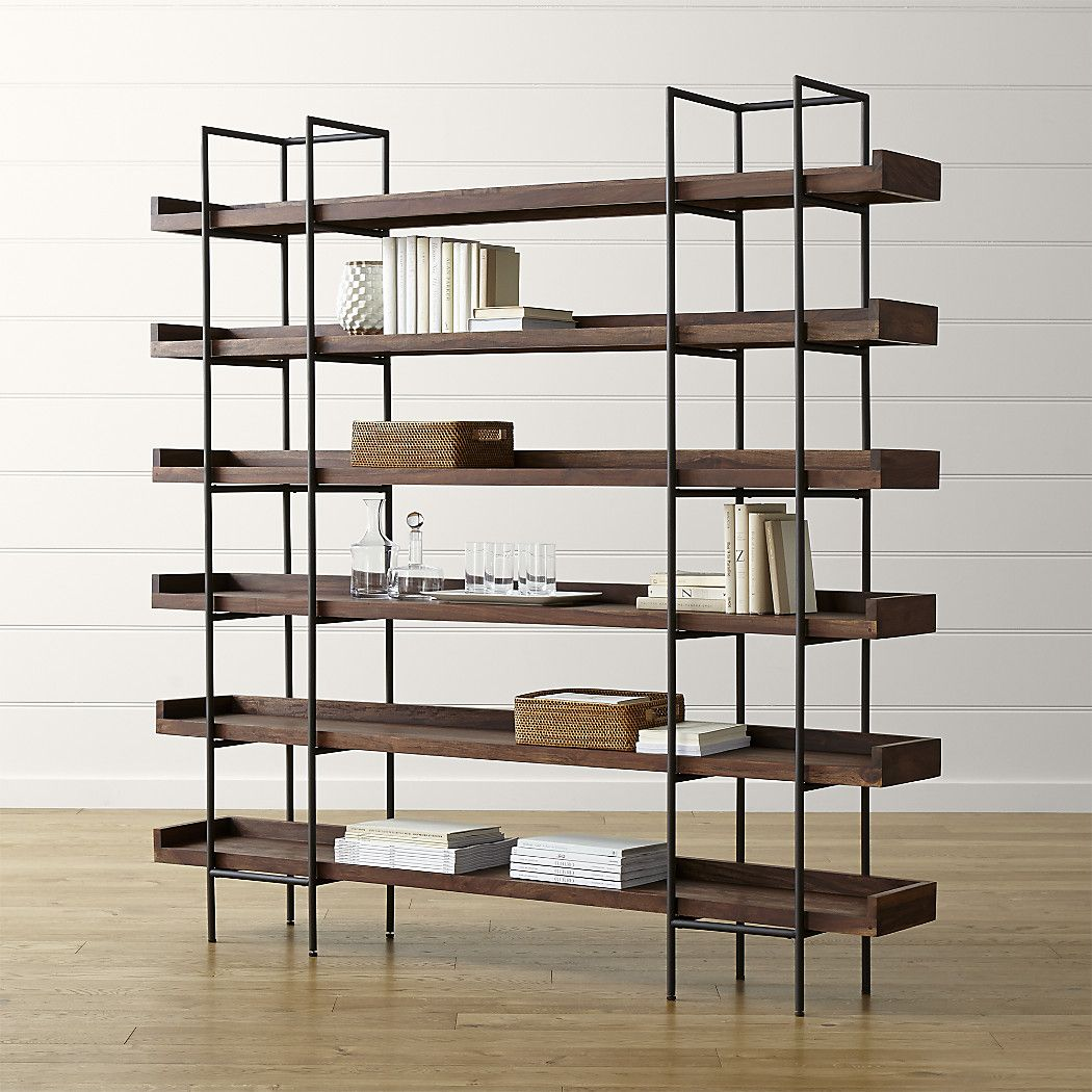 Beckett 6-High Shelf | Crate and Barrel, this is the one we have in ...