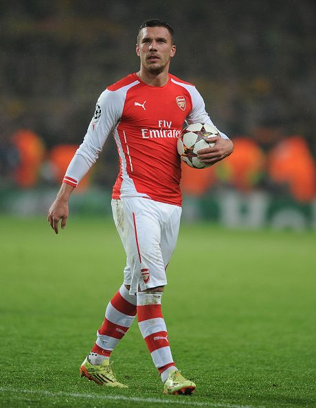 Podolski for Arsenal.