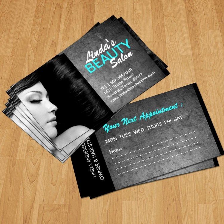 Hair salon and spa business card | Pinterest | Business cards ...