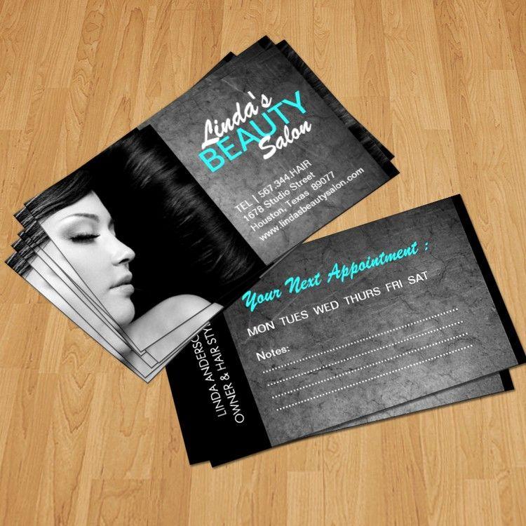 Free Hair Stylist Salon Business Card Template PSD On Behance. Hair ...
