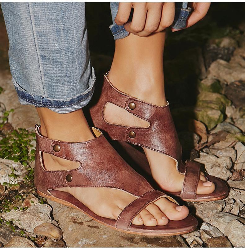 e41bd1ad0845 Soft Leather Boho Sandals – Dreamers Room