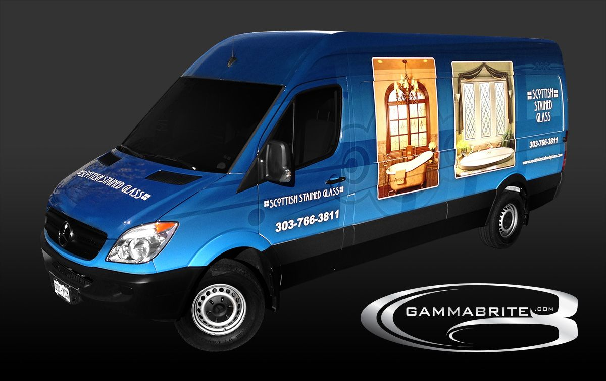 Vehicle Wrap by GammaBrite. www.gammabrite.com Scottish Stained ...