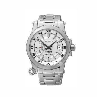SRG007P1 Ανδρικό Kinetic ρολόι SEIKO της σειράς Premier με ασημί ... ccffc1c548b