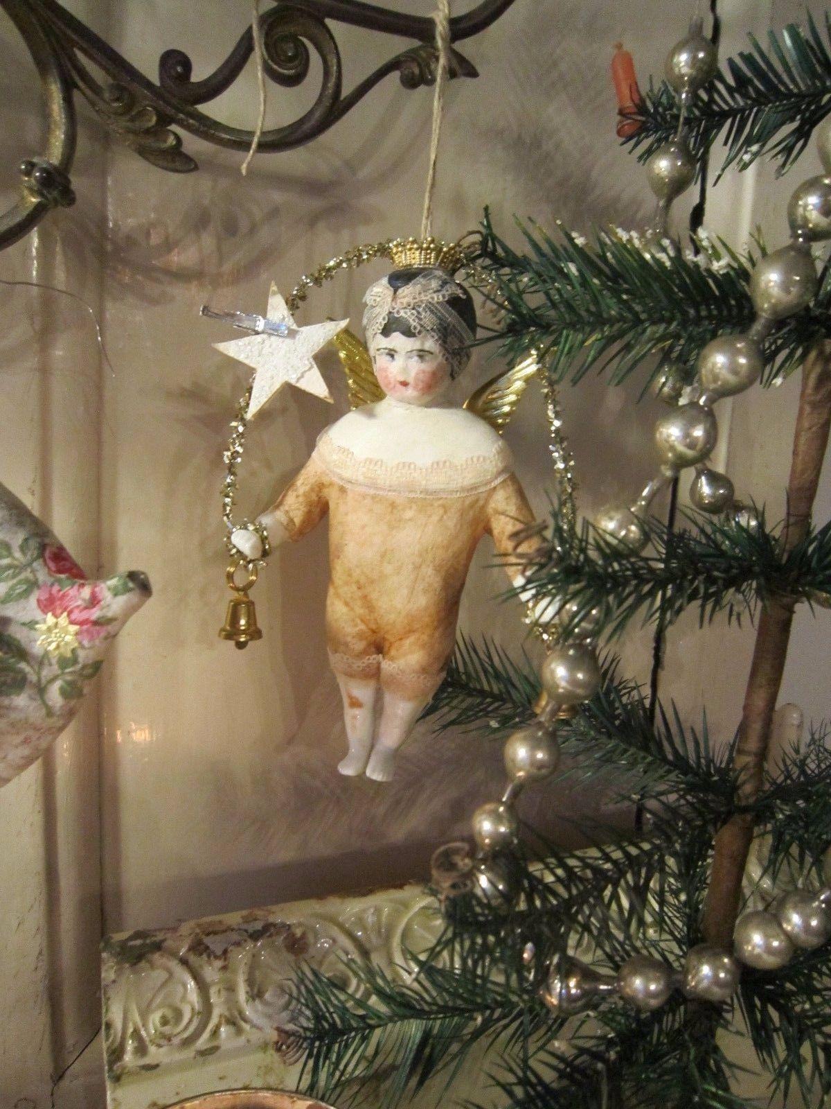 Pin by Edit Takács on karácsony | Pinterest | Antique christmas ...