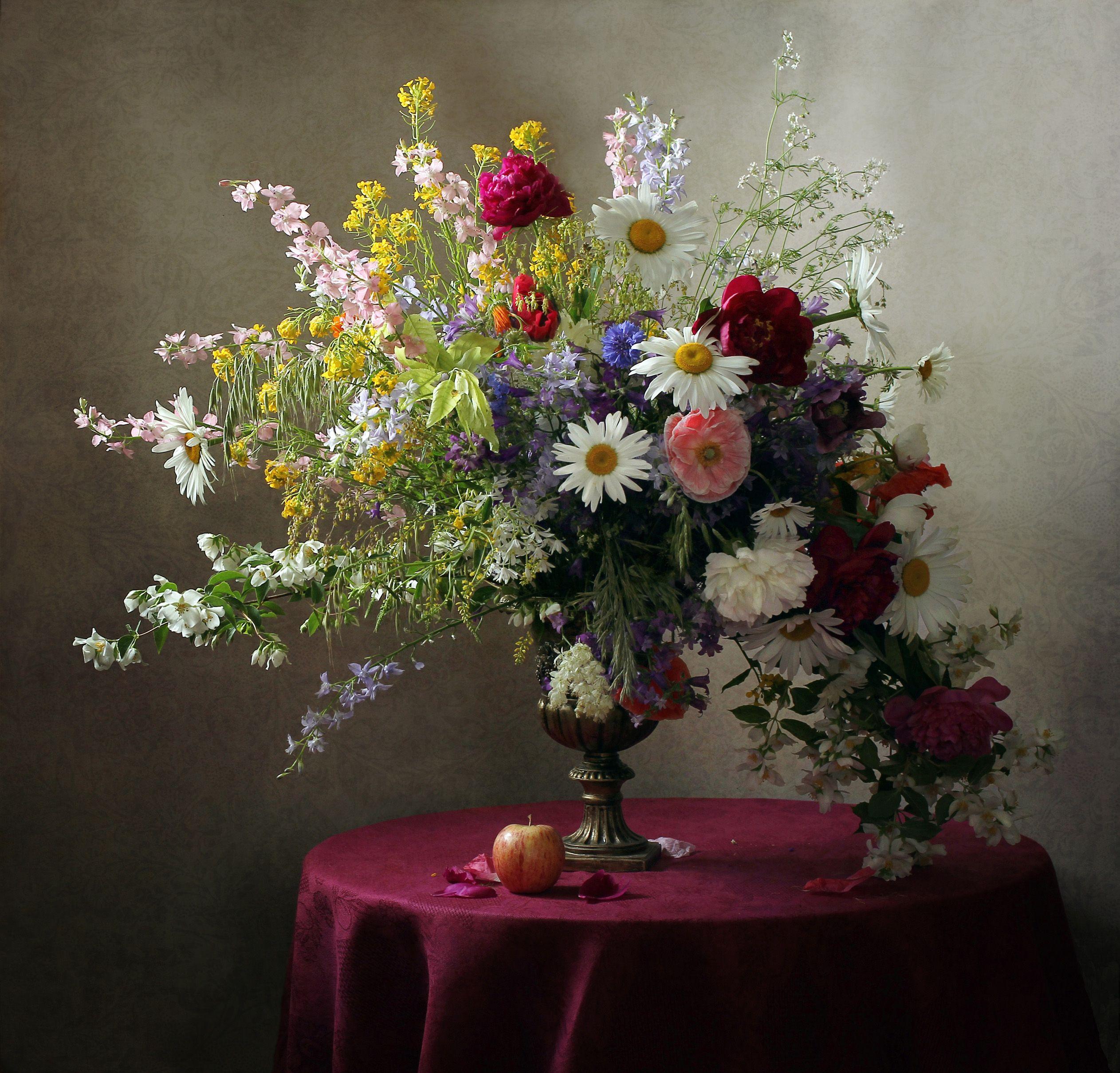 цветы лета в вазах картинки складные чердачные лестницы