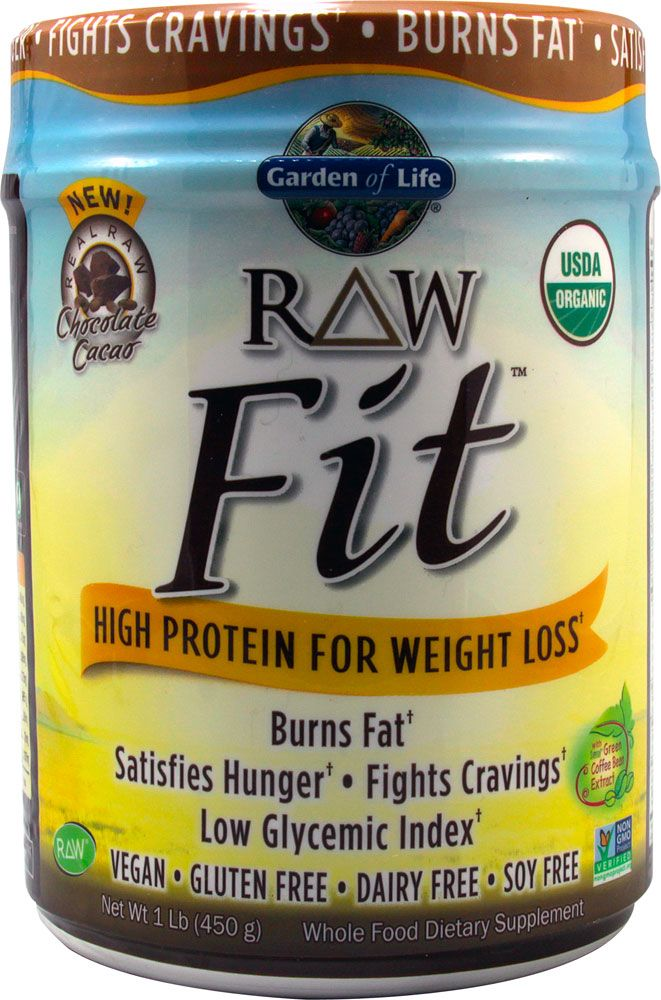 garden of life weight loss. Garden Of Life RAW Fit™ High Protein For Weight Loss Chocolate Cacao -- 16 D