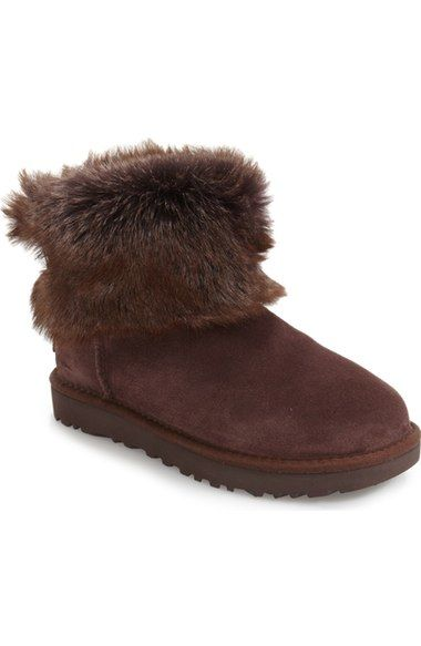 0ea3571d6 UGG 'Valentina' Genuine Shearling Cuff Boot (Women). #ugg #shoes #boots