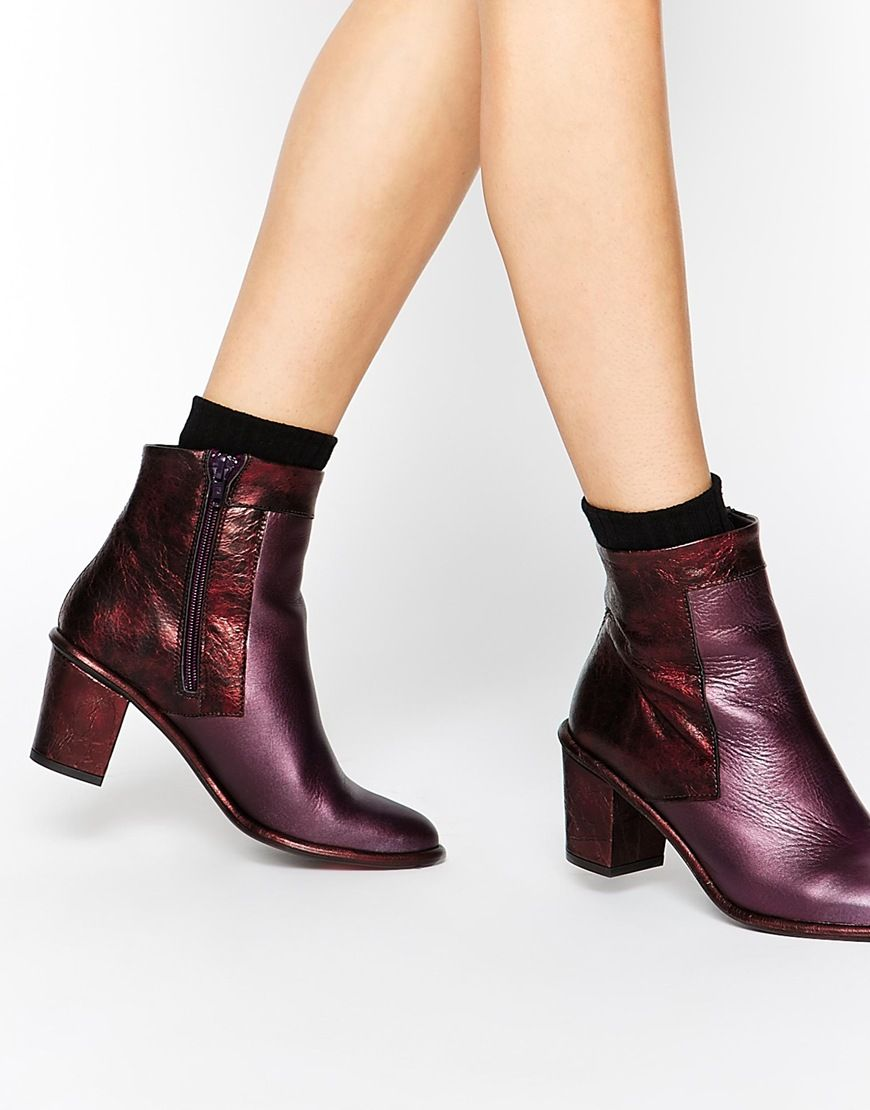 cd5be004c993 Miista Sheryl Heeled Ankle Boots   clothes   Pinterest   Ankle boots ...