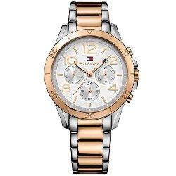 abbc436a26b Relógio Tommy Hilfiger Feminino Aço Prateado e Rosé - 1781525 ...