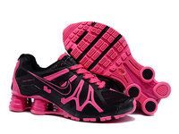 code promo 6af74 5bdf6 chaussures nike shox turbo+gris femme (noir/rose) pas cher ...