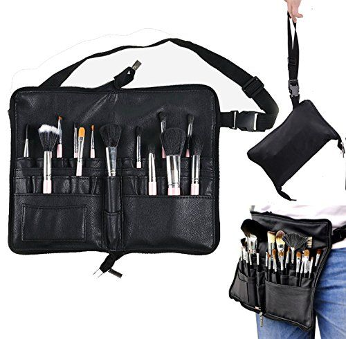 From 7.99 Bestfire Professional Makeup Brush Bag Case Portable 22 Pockets Cosmetic  Brush Holder Organizer With Artist Belt Strap Pu Leather (brushes Not ... 6730833543b0f