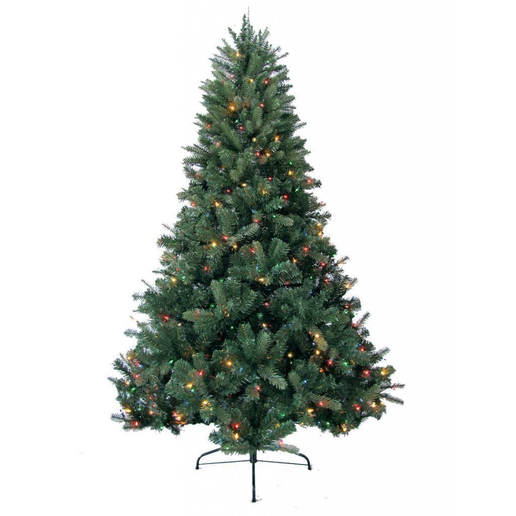 Merske 8-foot Prelit Artificial Deerwood Fir Tree with 750 Multi ...