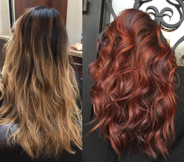 My Hair Transformation Loving My New Rogue Bordeaux Color Hair Transformation Hair Hair Color Auburn