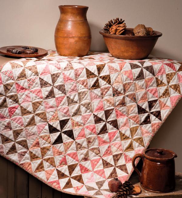 Nothing but Pinwheels quilt