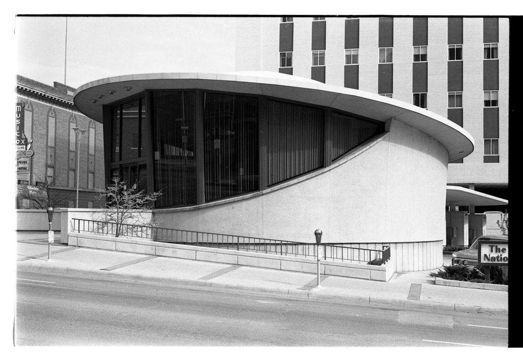Downtown building's distinctive design is from 1960s
