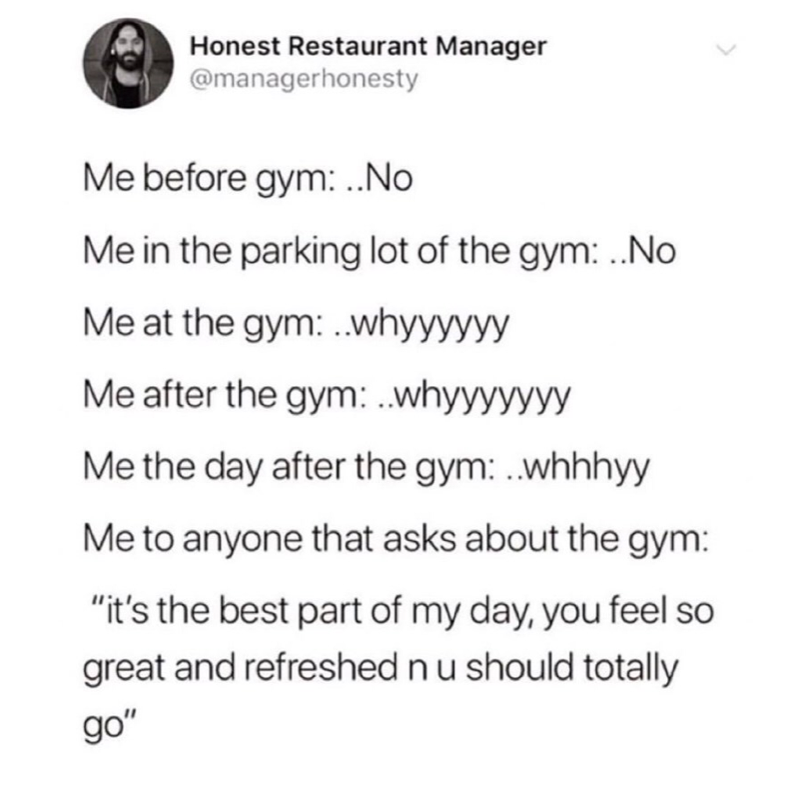 Clean Memes 10 21 2019 Evening Take Care Of Your Body Gym Essentials How Are You Feeling